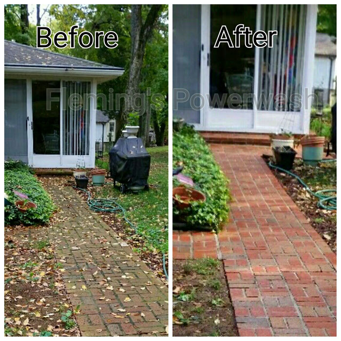 Brick Amp Stone Cleaning Flemings Powerwash