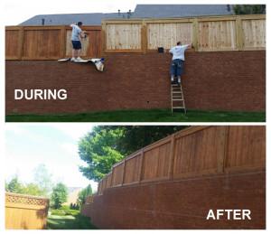 wood fence stain nashville