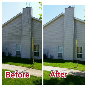 exterior house cleaning solution - house cleaning